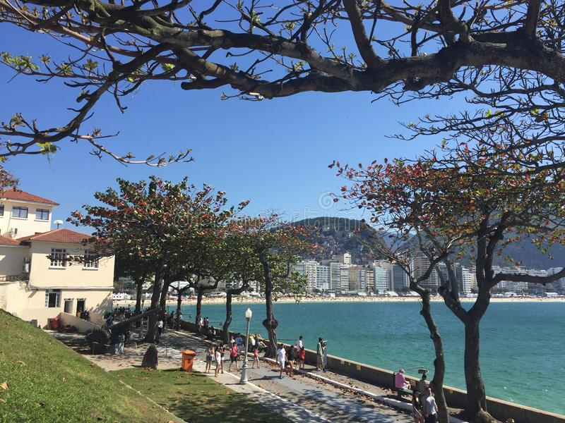 Forte de Copacabana photo stock