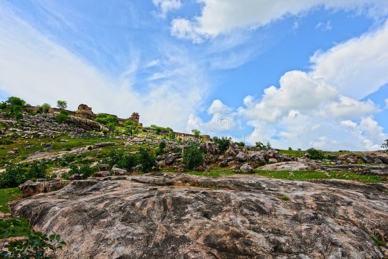 Forte de Garh Kundar fotografia de stock