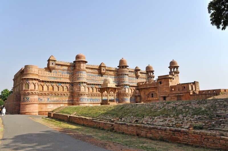 Forte de Gwalior fotos de stock royalty free
