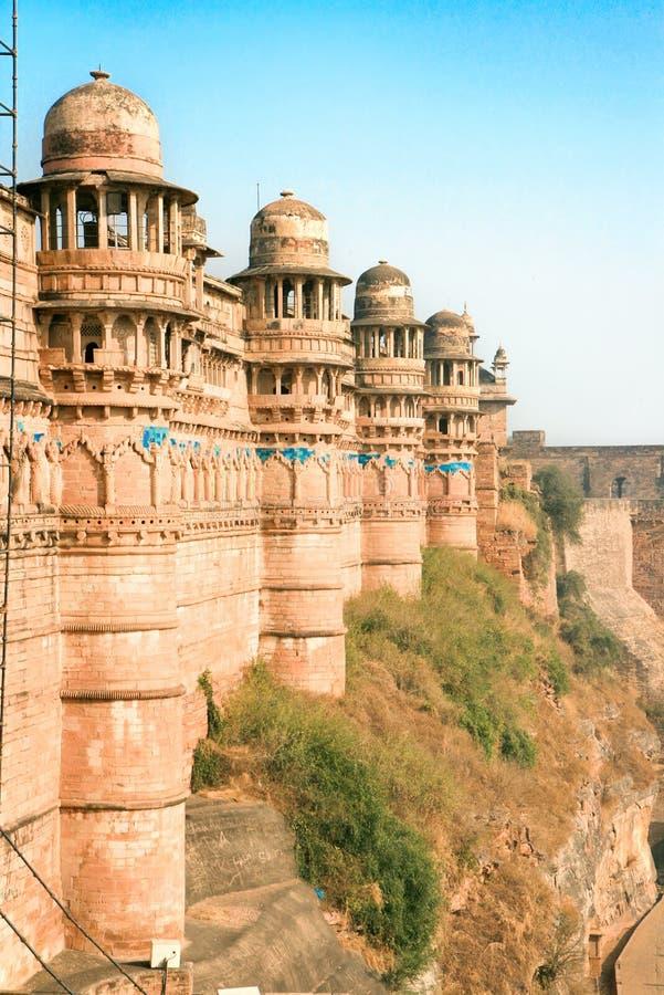 Forte de Gwalior, Gwalior, Madhya Pradesh fotografia de stock