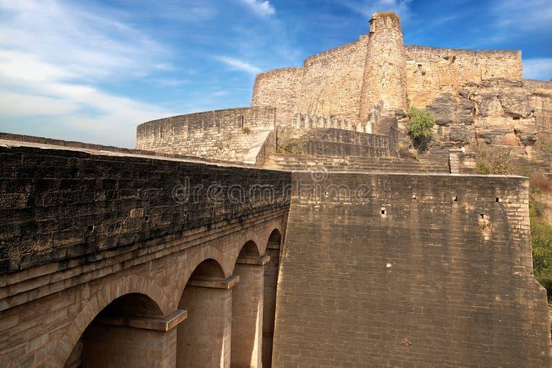 Forte de Gwalior. India fotos de stock royalty free