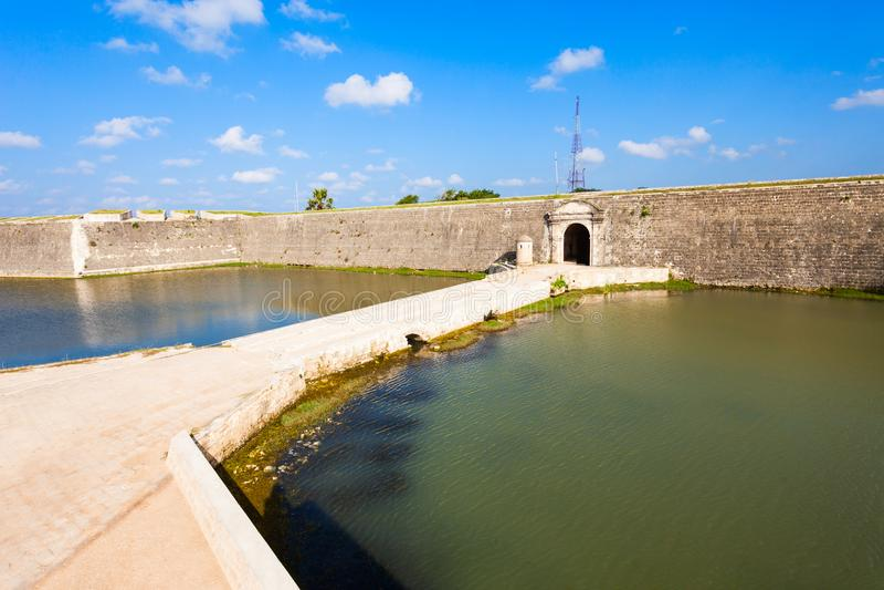 Forte de Jaffna, Sri Lanka fotos de stock