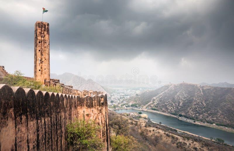 Forte de Jaigarh na Índia foto de stock royalty free
