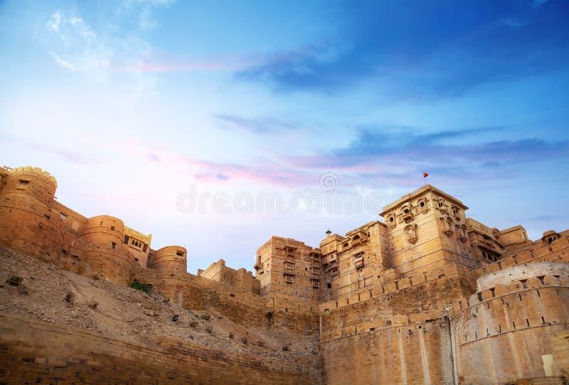 Forte de Jaisalmer imagem de stock royalty free
