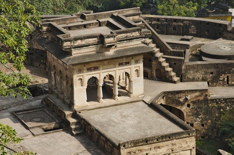 Forte de Jhansi, Jhansi, estado de Uttar Pradesh da Índia fotografia de stock