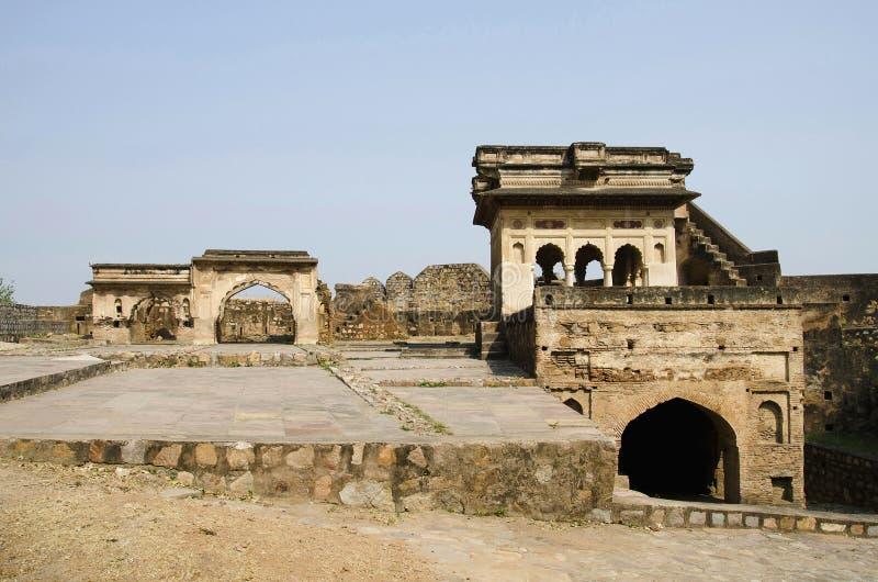 Forte de Jhansi, Jhansi, estado de Uttar Pradesh da Índia foto de stock royalty free