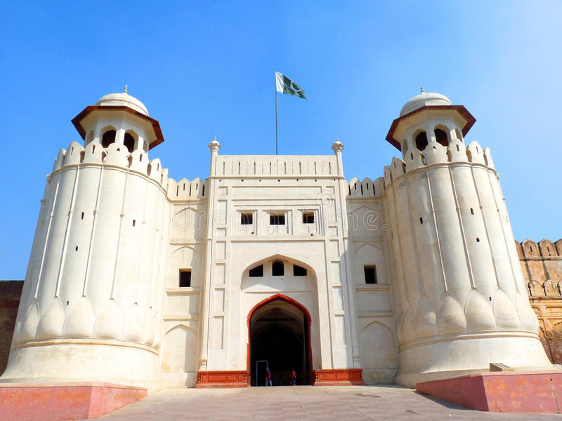 Forte de Lahore imagens de stock