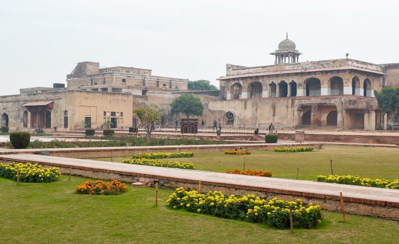 Forte de Lahore em Paquistão imagens de stock royalty free