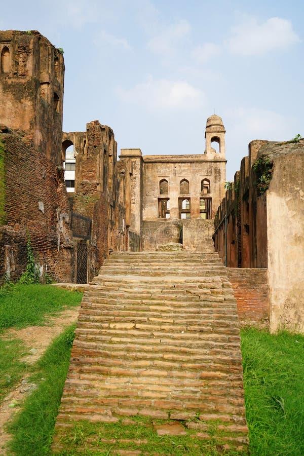 Forte de Lalbagh, Dhaka, Bangladesh imagens de stock royalty free