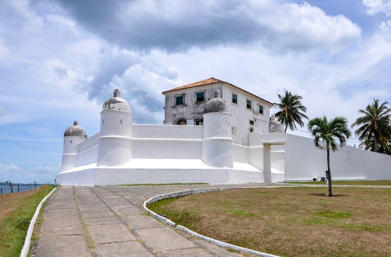 Forte de Monte Serrat,萨尔瓦多de巴伊亚(巴西) 库存图片