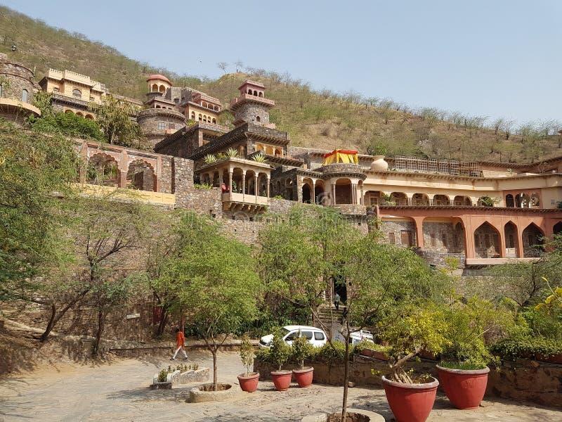 Forte de Neemrana um olhar elegante de rajasthan imagens de stock