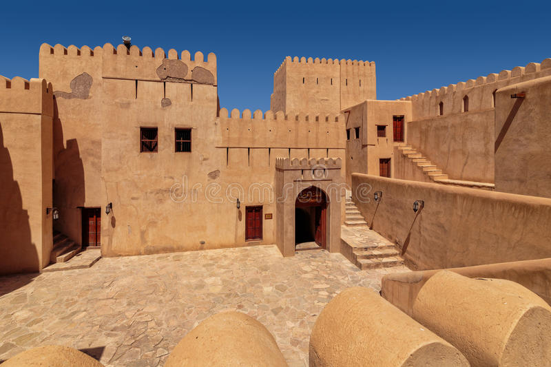 Forte de Nizwa imagem de stock royalty free