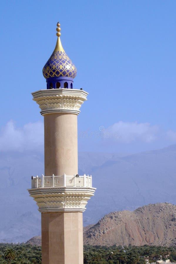 Forte de Nizwa em Oman fotos de stock