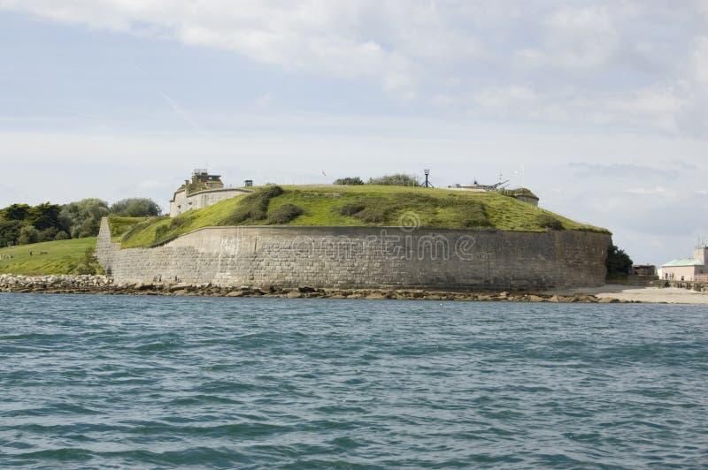 Forte de Nothe, Weymouth foto de stock royalty free