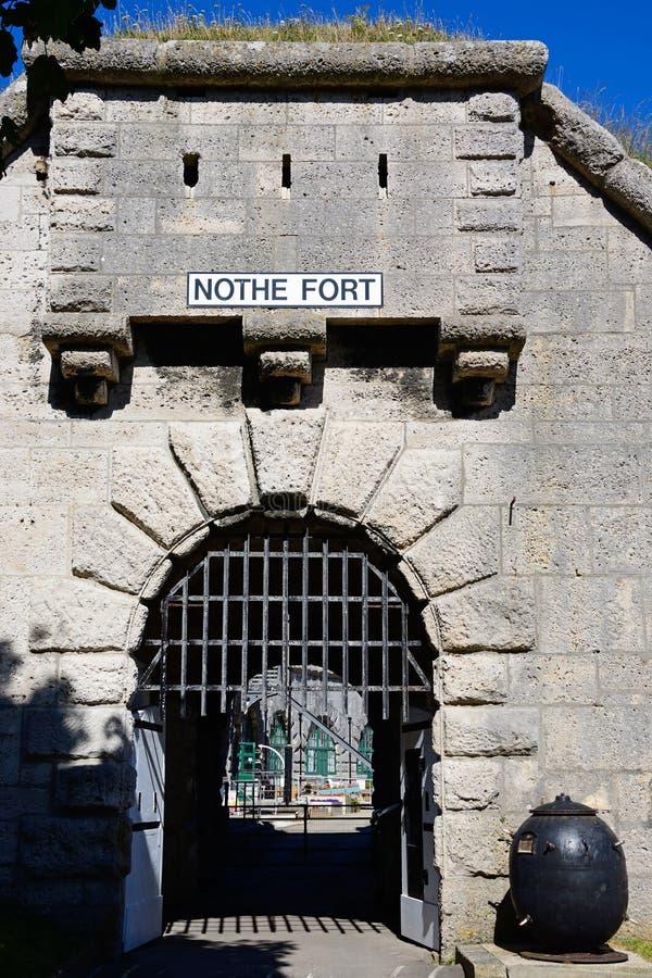 Forte de Nothe, Weymouth imagens de stock royalty free