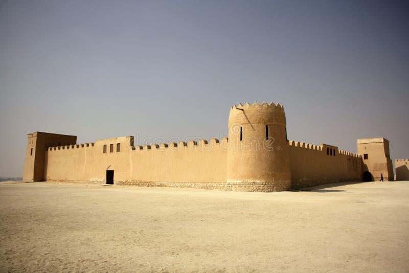 Forte de Riffa, Barém imagem de stock
