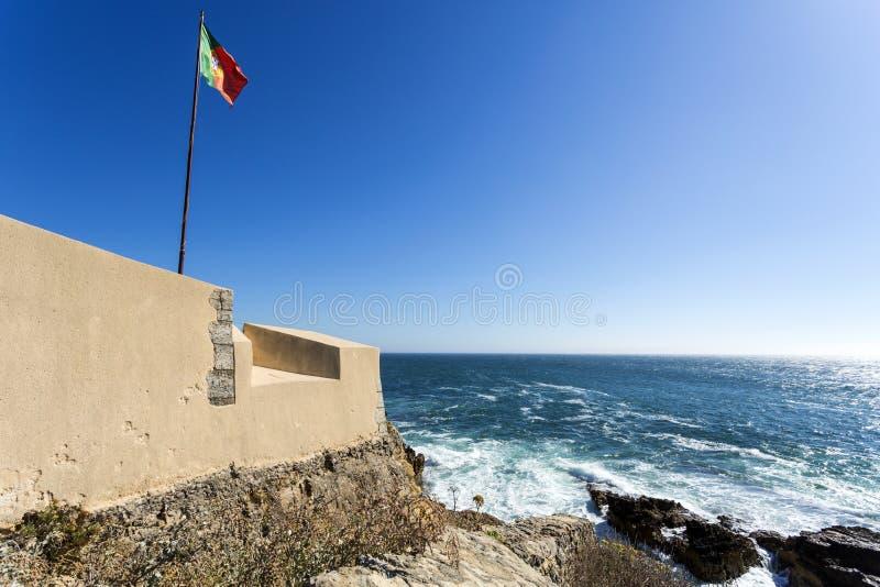 Forte de São Jorge de Oitavos fotografia de stock royalty free
