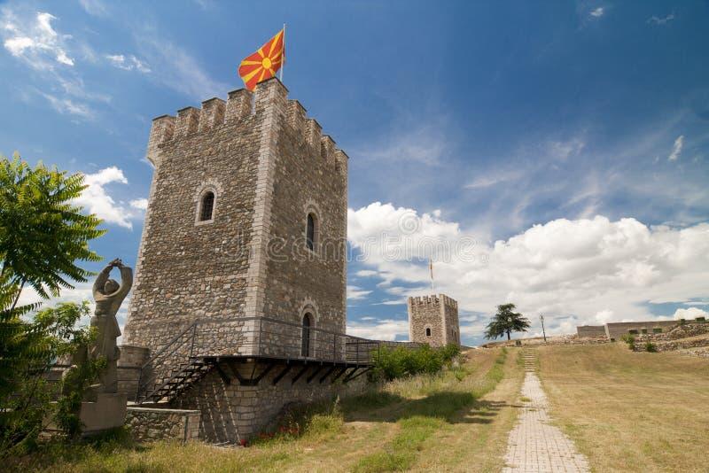 Forte de Skopje imagem de stock