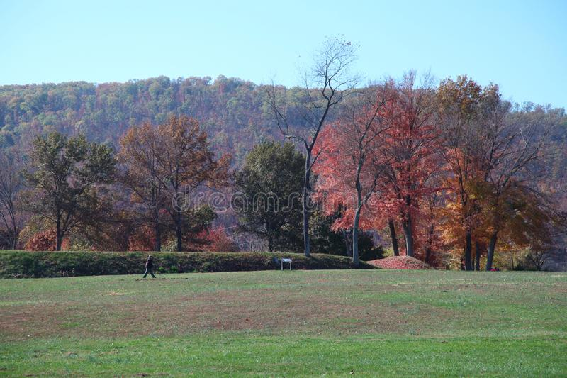 Forte de terra Davidson Iron County, Missouri foto de stock