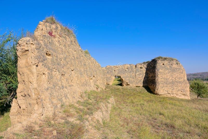 Forte de Tieshan imagens de stock
