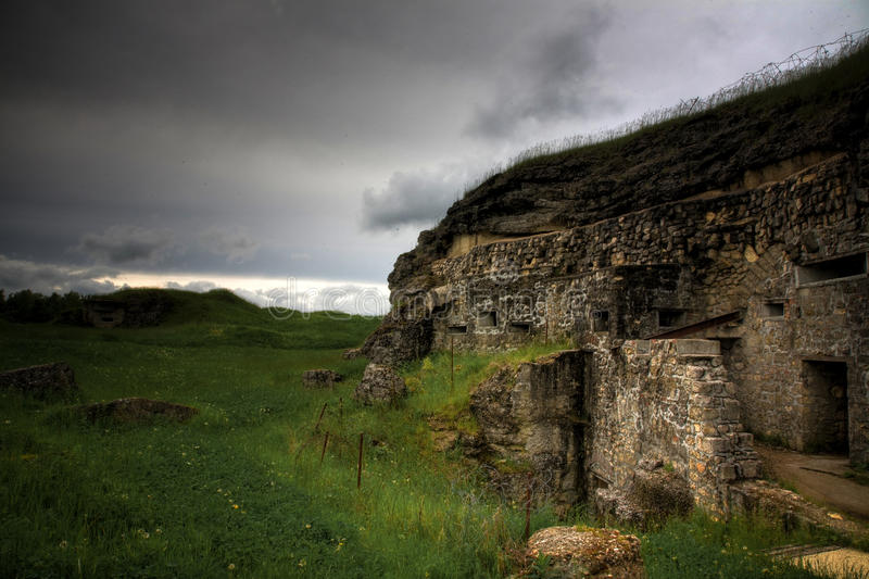 Forte de Verdun imagem de stock royalty free