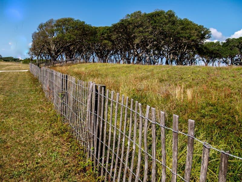 Forte Fisher State Historic Site em North Carolina imagens de stock royalty free