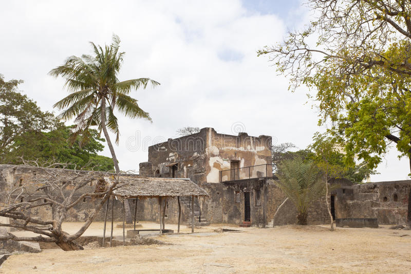 Forte Jesus em Mombasa, Kenya foto de stock