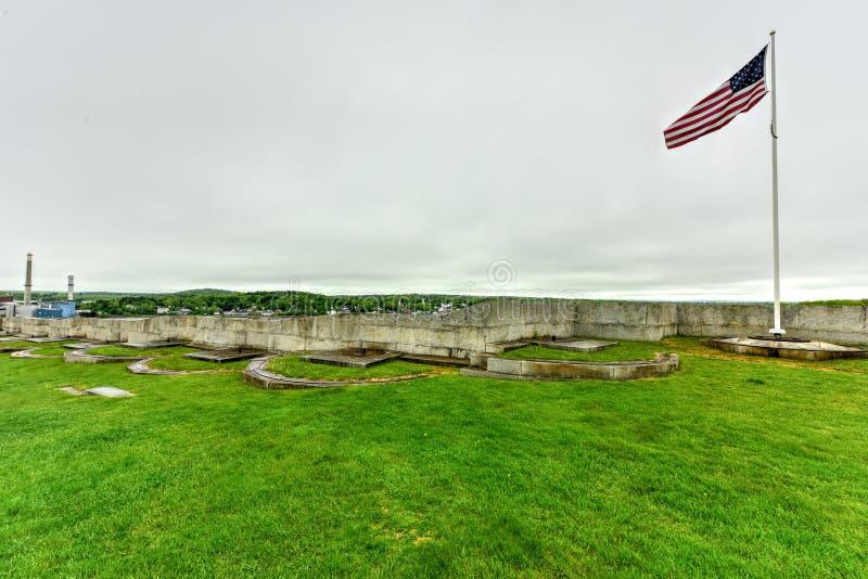 Forte Knox - Maine foto de stock
