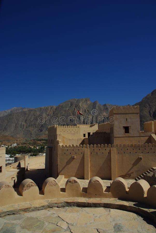 Forte Oman imagem de stock royalty free