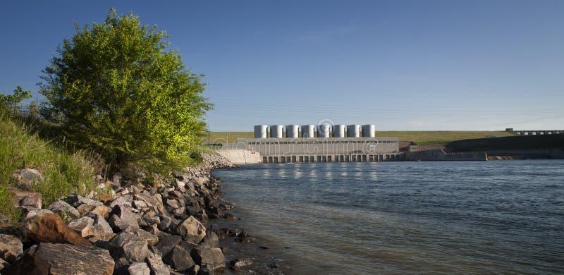 Forte Randall Dam - South Dakota imagens de stock