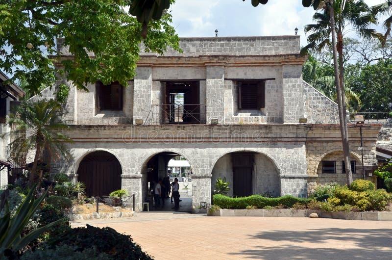 Forte San Pedro em Cebu foto de stock