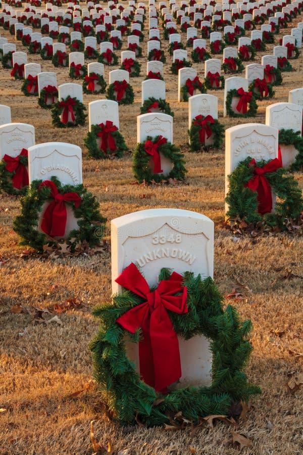Forte Smith National Historic Cemetery 4 fotografia de stock royalty free