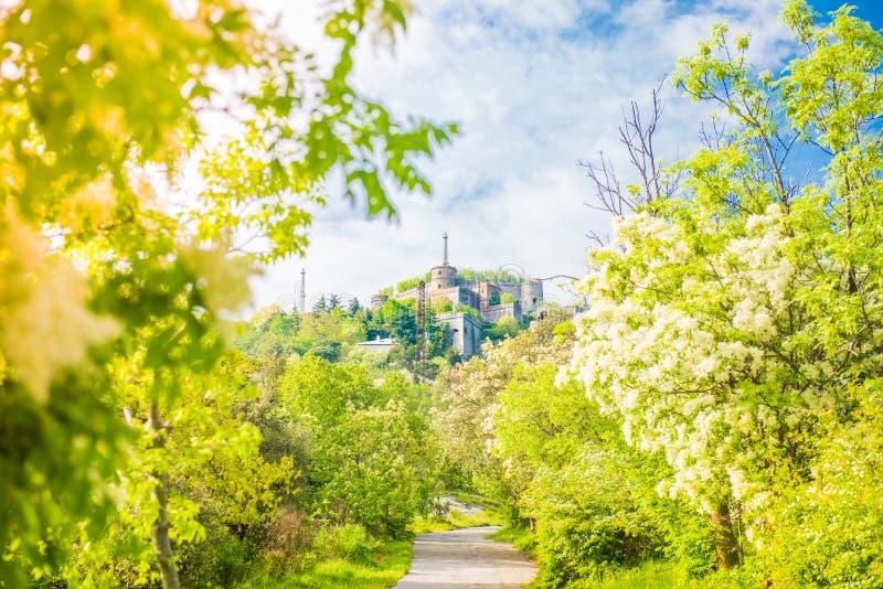 Forte Sperone, Gênes, Italie images libres de droits
