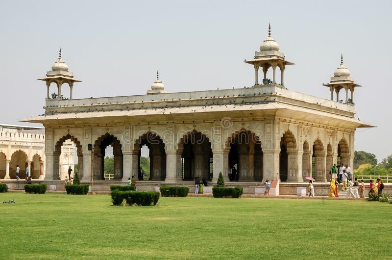 Forte vermelho em Nova Deli, Índia fotografia de stock royalty free