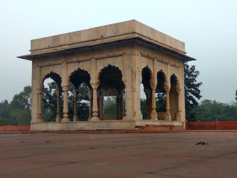 Forte vermelho, Nova Deli fotografia de stock royalty free