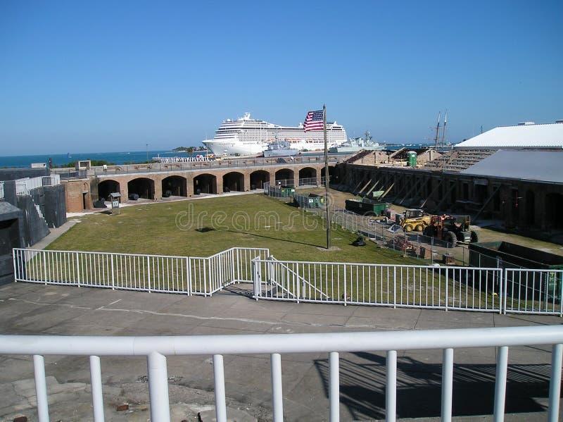 Forte Zachary Key West  fotografia de stock