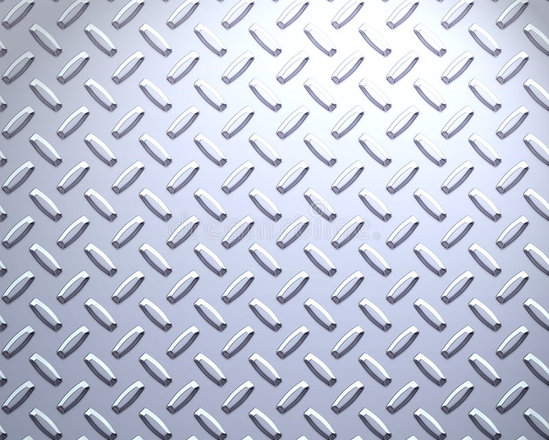 forte zolla d'acciaio del diamante illustrazione vettoriale