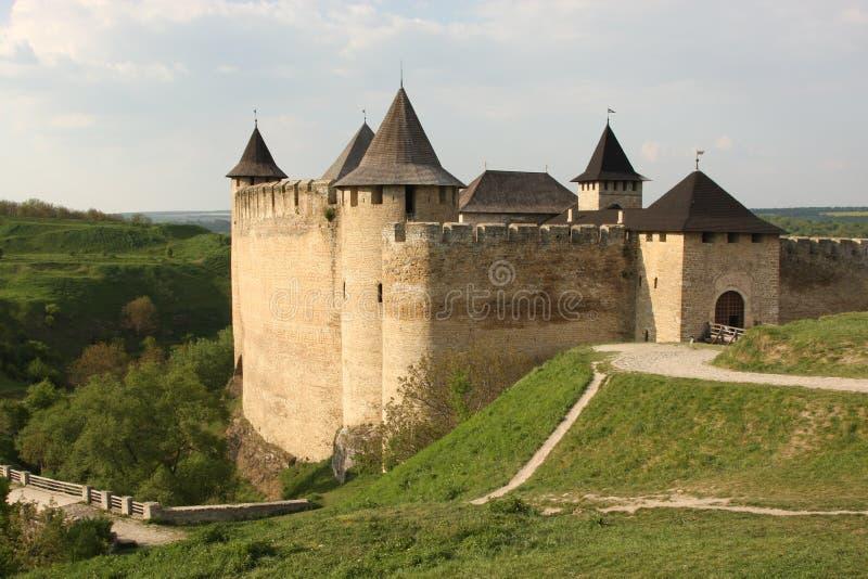 forteca średniowieczny obrazy stock
