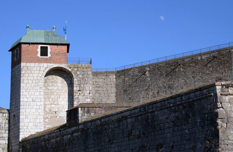forteca besancon obrazy stock