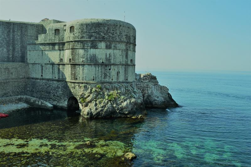 Forteca Dubrovnic fotografia stock
