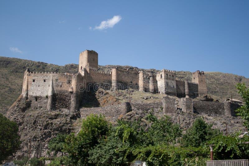 Forteca Khertvisi zdjęcia stock