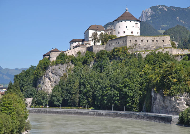 Forteca Kufstein, Tirol, Austria fotografia royalty free