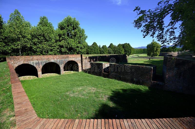 Forteca Lucca obraz stock