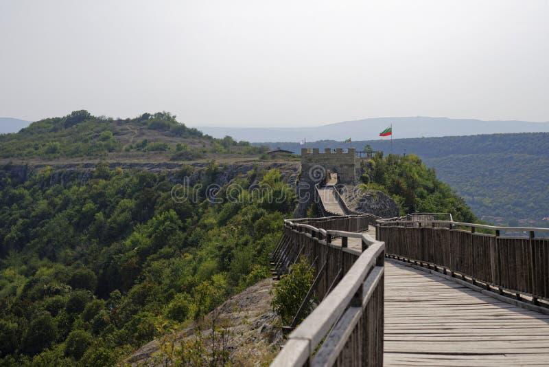Forteca Ovech w Bułgaria fotografia stock
