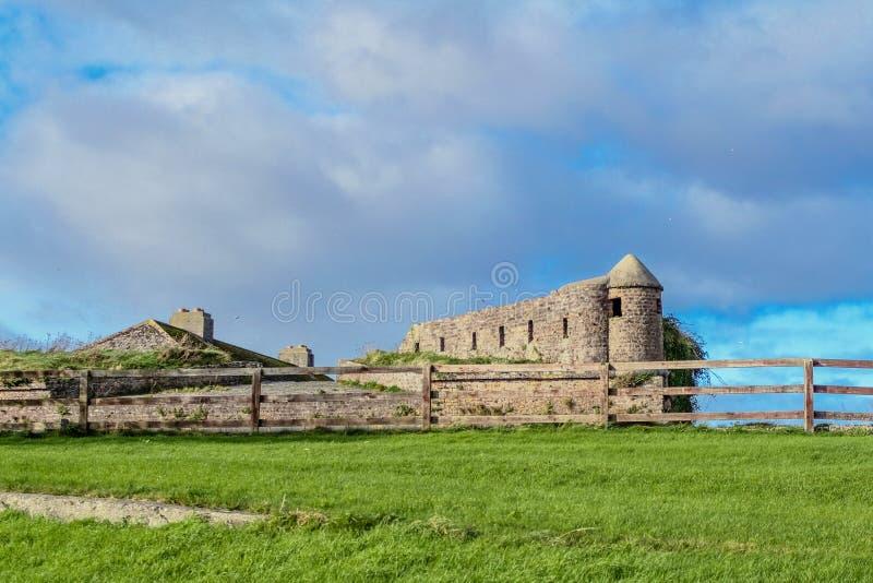 Forteca przy Duncannon zdjęcia royalty free