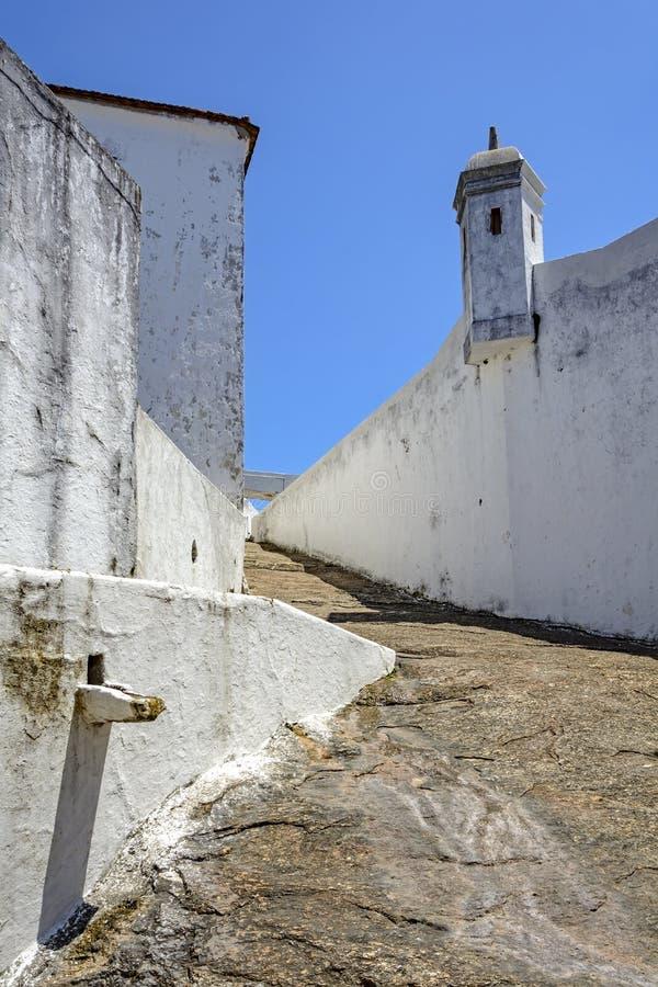 Forteca Santa Cruz obraz royalty free