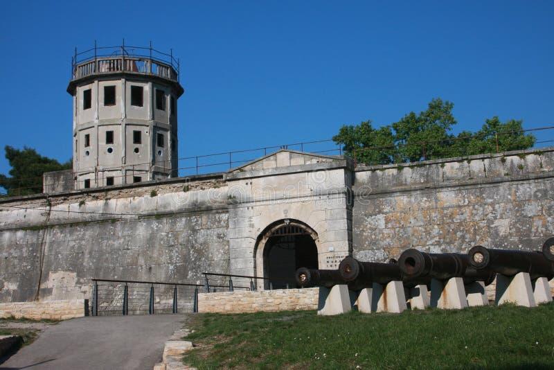 forteca strzela pula obrazy stock