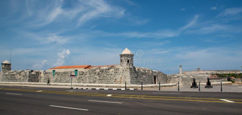 forteca w Hawańskim Kuba zdjęcie royalty free