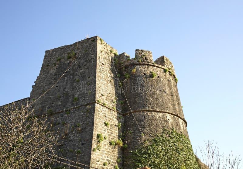 Forteca w Herceg Novi Montenegro zdjęcie royalty free