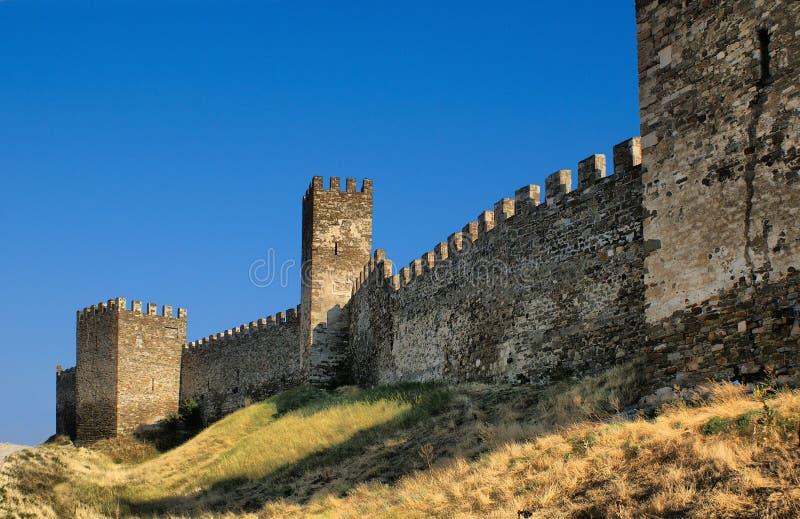 forteczna ściana zdjęcia stock